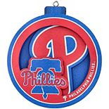 Philadelphia Phillies 3D Logo Series Ornament