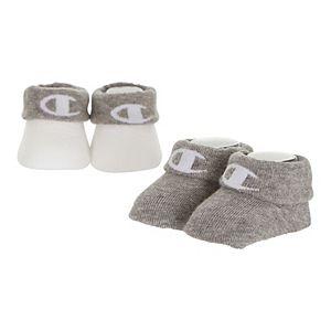 Baby Champion® 2 Pack Bootie Socks