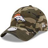 Women's New Era Camo Denver Broncos Core Classic 9TWENTY Adjustable Hat