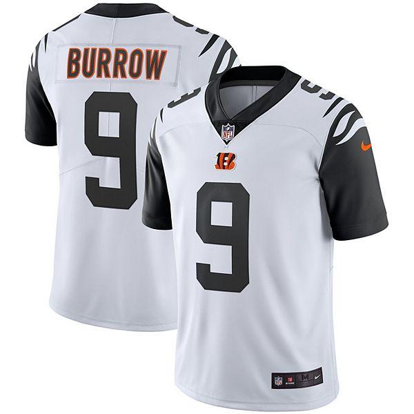 Men's Nike Joe Burrow White Cincinnati Bengals 2nd Alternate Vapor Limited Jersey