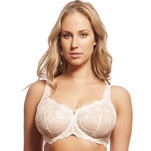 Lunaire Bras: Sevilla Embroidered Full-Figure Balconette Bra 14011
