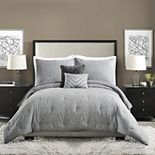 Ayesha Curry Strie Texture Comforter Set with Shams