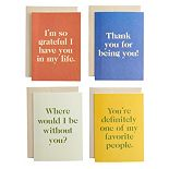 Aya Paper Co. Gratitude Greeting Card Set