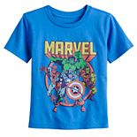 Toddler Boy Jumping Beans® Marvel Team Graphic Tee