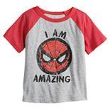 "Toddler Boy Jumping Beans® Marvel Spider-Man ""I Am Amazing"" Raglan Tee"