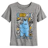 Toddler Boy Jumping Beans® Sesame Street Cookie Monster Heathered Tee