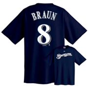 Majestic Milwaukee Brewers Ryan Braun Tee