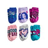 Disney's Descendants 3 Girls 6-Pack No-Show Socks