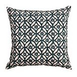 Arden Selections Bold Blush Trellis with Dots Throw Pillow