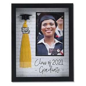 """New View Gifts & Accessories Class of 2021 Tassel 4"""" x 6"""" Frame"""