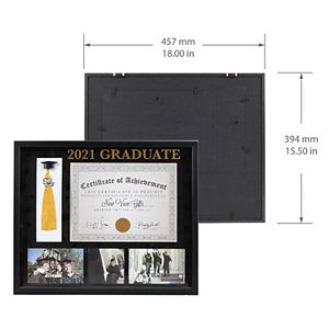 New View Gifts & Accessories Class of 2021 Diploma Collage Frame