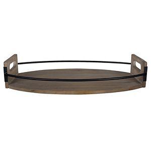 Stratton Home Decor Oval Decorative Tray Table Decor
