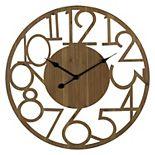 Stratton Home Decor Brady Wall Clock