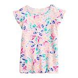 Girls 4-12 Jumping Beans® Flutter-Sleeve Tee