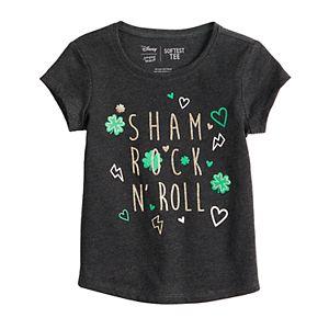 Toddler Girl Jumping Beans® Shamrock N' Roll Tee