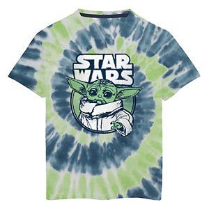 Boys 8-20 Star Wars The Mandalorian The Child aka Baby Yoda Tie-Dye Graphic Tee