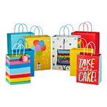Hallmark Medium & Large Colorful Gift Bag Assortment
