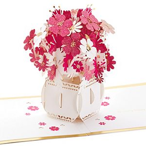 """Hallmark Signature Paper Wonder Pop Up """"Happy Thoughts"""" Greeting Card"""