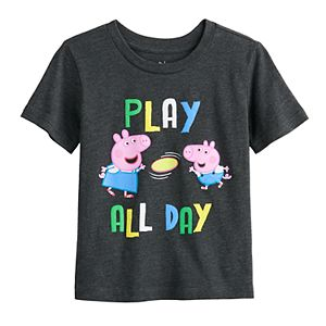 "Toddler Boy Jumping Beans® Peppa Pig ""Play All Day"" Graphic Tee"