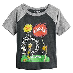 "Boys 4-12 Jumping Beans® Dr. Seuss ""The Lorax"" Raglan Graphic Tee"
