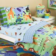 Olive Kids Wild Animal Toddler Bed Set