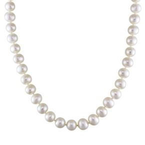 Stella Grace Sterling Silver Freshwater Cultured Pearl Necklace