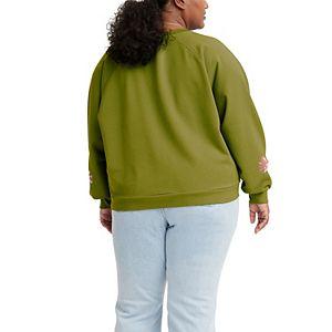 Plus Size Levi's® Vintage Raglan Crewneck Sweatshirt