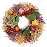 Sonoma Goods For Life® Dried Wreath with Dutch Flowers
