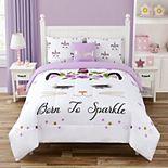 Unicorn Kitten Kid's Comforter Set