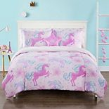 Unicorn Fame Kid's Comforter Set