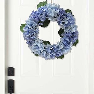 Sonoma Goods For Life Artificial Blue Hydrangea Wreath