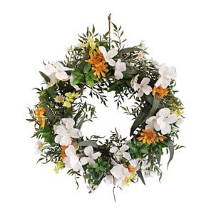 Sonoma Goods For Life Artificial Dogwood Wreath