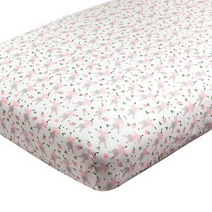 HONEST BABY CLOTHING Organic Cotton Fitted Crib Sheet