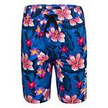 Boys 4-7 Hurley Hybrid Printed Poplin Shorts