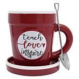 New View Gifts & Accessories Teach Love Inspire Planter Mug