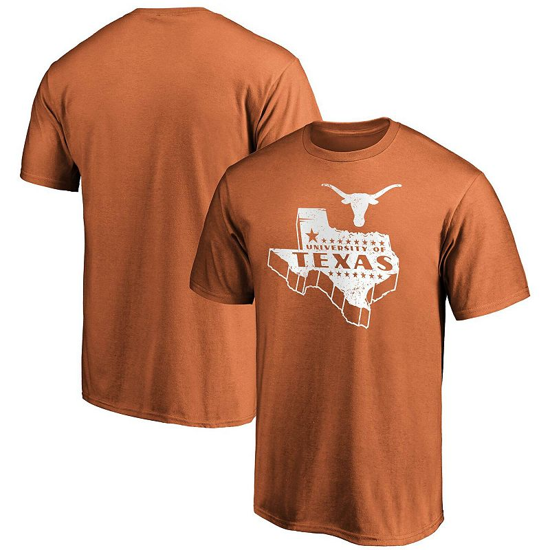 Men's Fanatics Branded Texas Orange Texas Longhorns Hometown Graphic T-Shirt, Size: XL