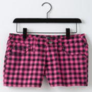 Abbey Dawn Plaid Shorts