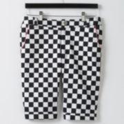 Abbey Dawn Checkered Bermuda Shorts