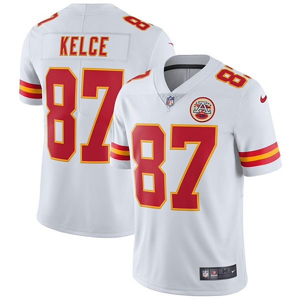 Men's Nike Travis Kelce White Kansas City Chiefs Vapor ...