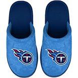 Men's Tennessee Titans Big Team Logo Scuff Slippers