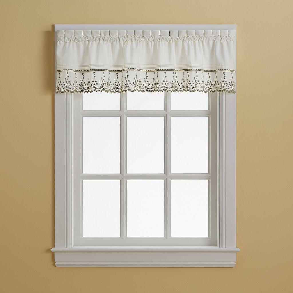 Abby Floral Window Valance