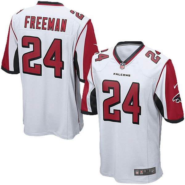 Youth Nike Devonta Freeman White Atlanta Falcons Game Jersey