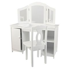 KidKraft® Deluxe Vanity & Chair Set