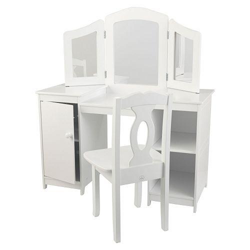 KidKraft® Deluxe Vanity & Chair Set