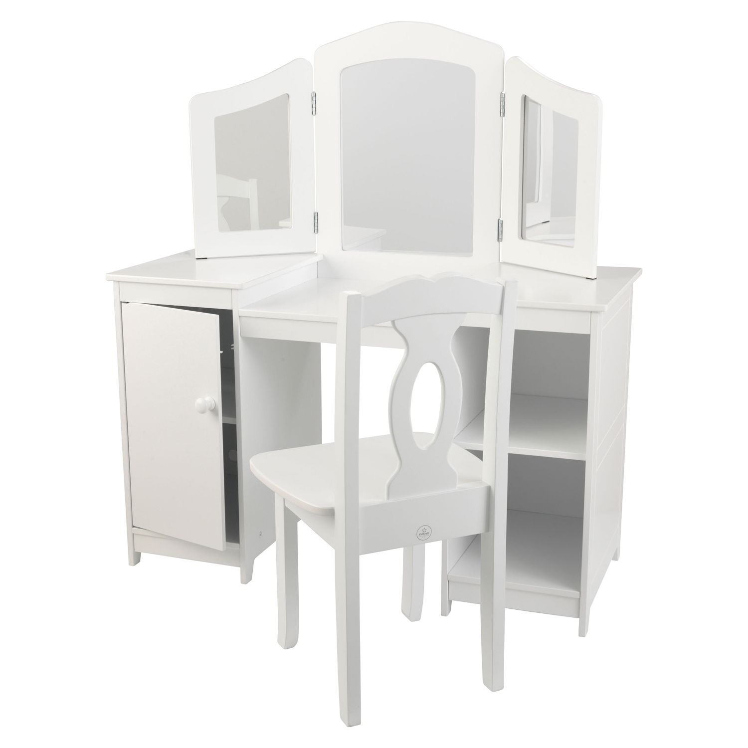 KidKraft® Deluxe Vanity U0026 Chair Set