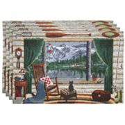 Park B. Smith Tahoe 4-pk. Placemats