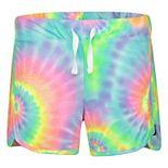 Girls 4-16 Hurley High-Waisted Printed Knit Shorts