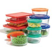 Pyrex 20-pc. Storage Set with Color Lids