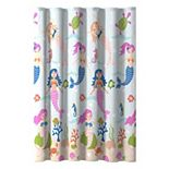 Dream Factory Mermaid Dreams Shower Curtain