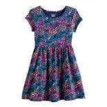 Toddler Girl Jumping Beans® Short-Sleeve Skater Dress